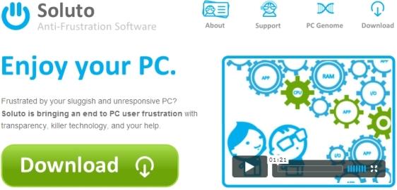 Soluto.com Screenshot